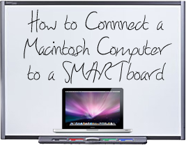 Connect Macintosh to SMARTBoard