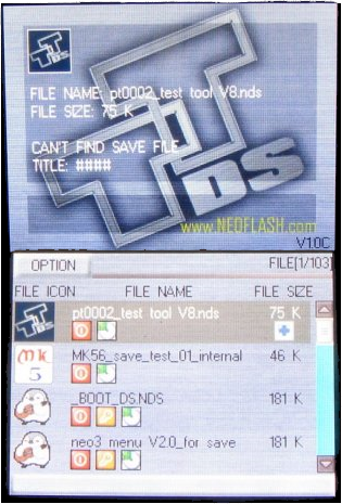 Top Toy DS User Interface Firmware